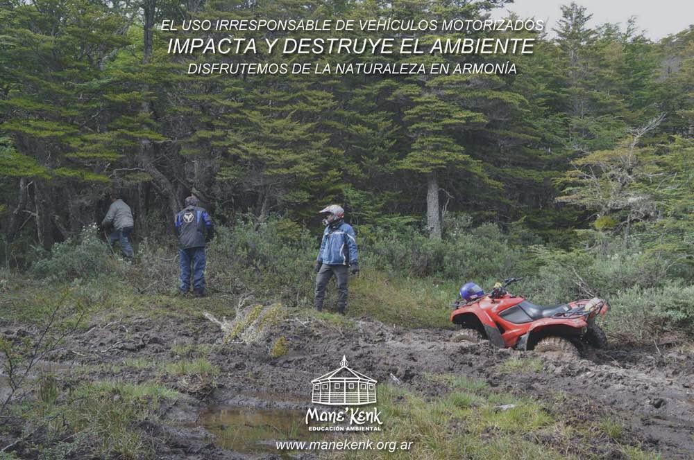 Regular los 4x4 para proteger el Ambiente y los Servicios Ecosistémicos y Culturales